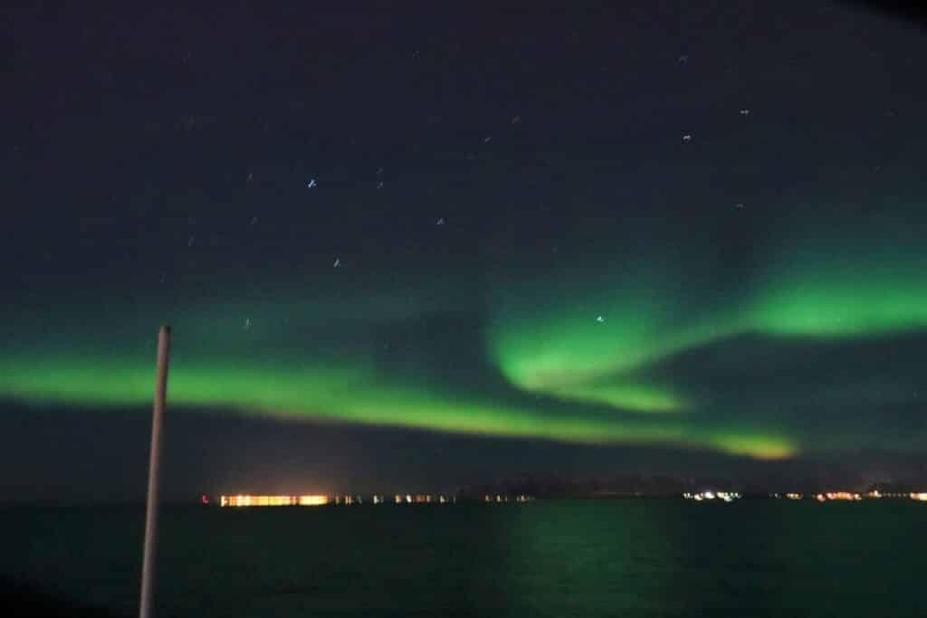 northern lights sea trips reykjavik