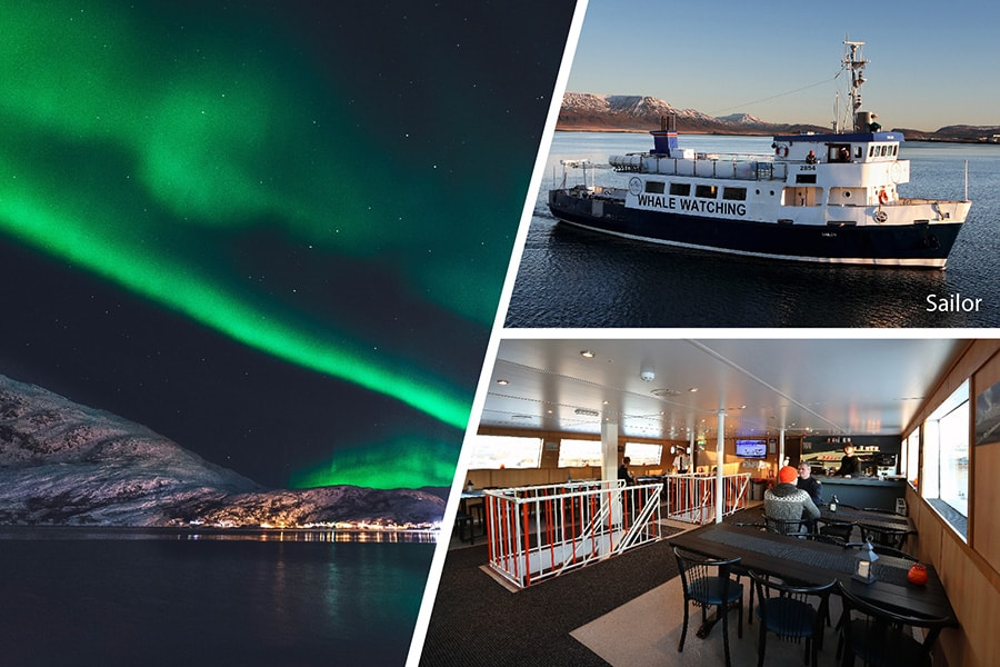 Northern Lights by Boat from Reykjavik