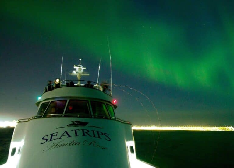 northern lights with Sea trips